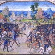 During the late thirteenth century and early fourteenth century, the English in medieval Europe fought in two wars: the Scottish Wars of Independence followed by the Hundred Years War.