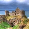 Historians have known that a 17th-century town existed near the iconic Dunluce Castle in Northern Ireland, but new research has uncovered new evidence of an earlier settlement, dating back to the 15th century.