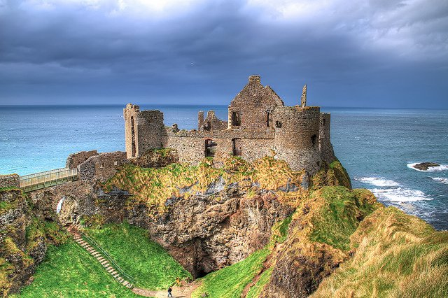 Dunluce Castle - photo by Micu Radu