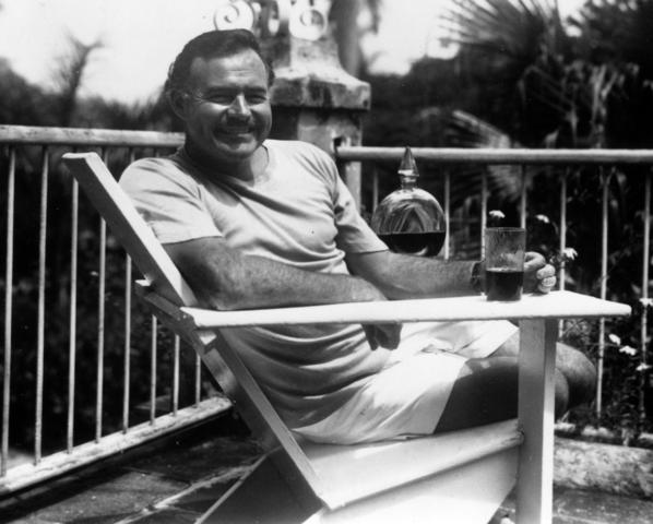Ernest Hemingway in 1946