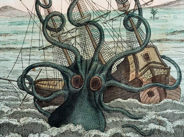 The Kraken: when myth encounters science