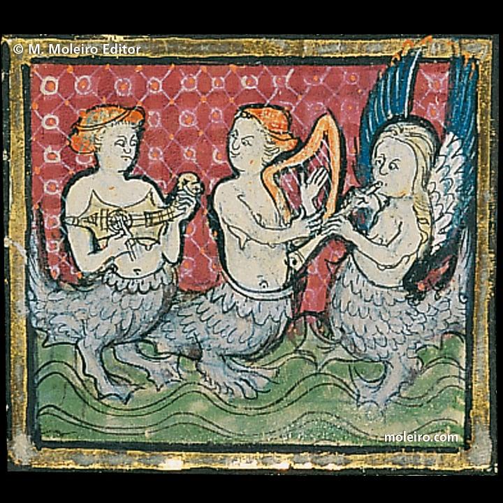 Medieval mermaids