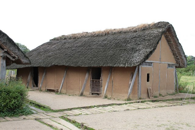 Viking House in Hedeby - photo by Kai-Erik