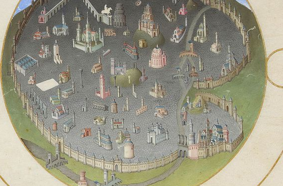 The City of Rome in the Middle Ages