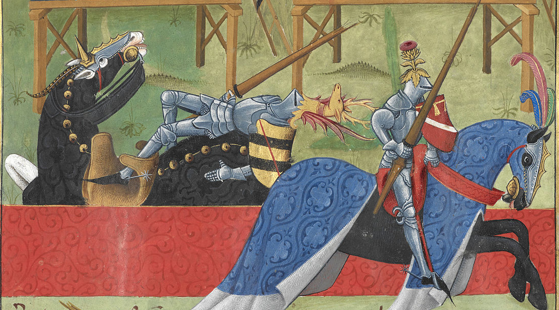medieval rules for jousting