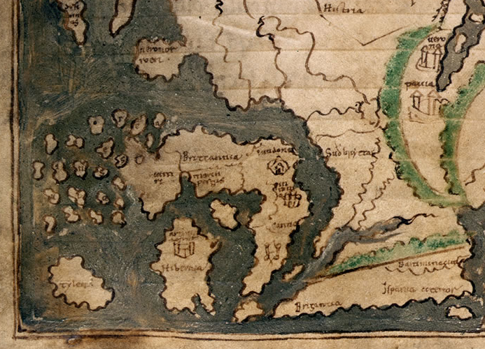 Britain in the Anglo-Saxon Mappa Mundi