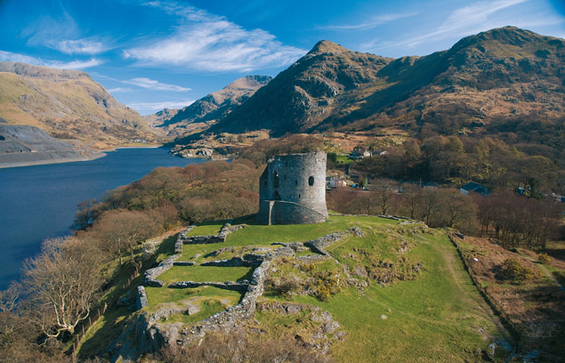 Dolbadarn Castle - photo courtesy CADW