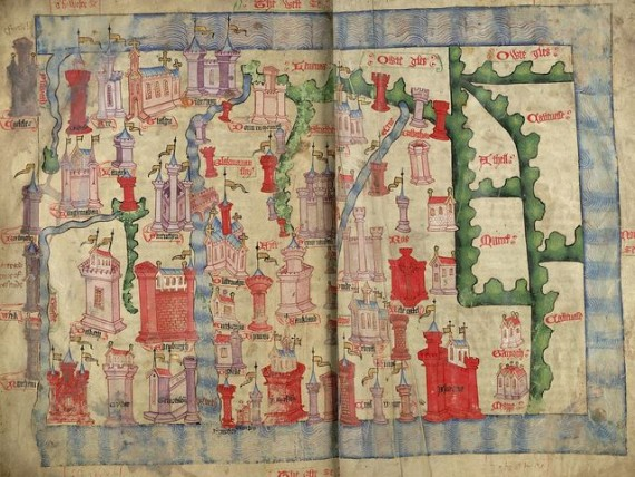Medieval Maps of Britain10