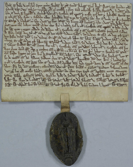 Magna Carta - photo courtesy Canterbury Cathedral
