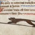 This article deals with the topic of hares and rabbits in Creation scenes and Naming of the beasts scenes in bestiaries and other medieval manuscripts.