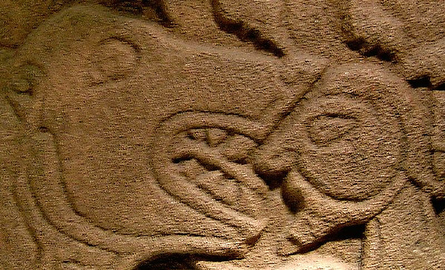 pictish stone - photo by Tom Doel / Flickr