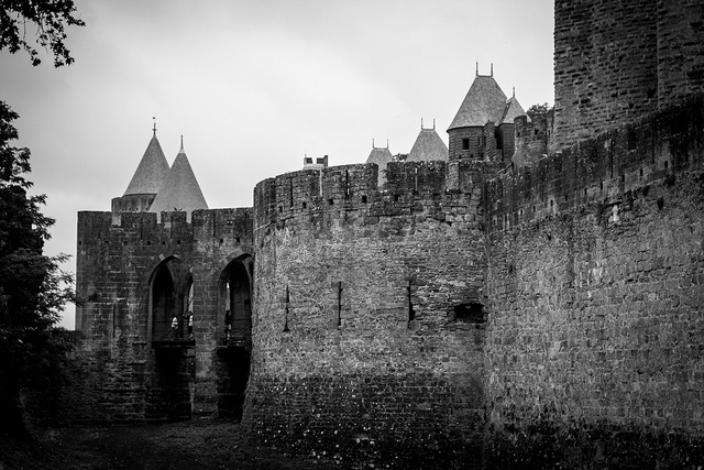 walls of carcassonne - Photo: IamNotUnique/Flickr