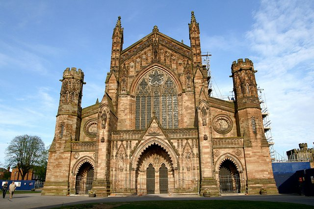 Hereford Cathedral - photo by David Merrett / Flickr