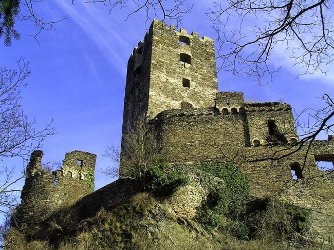Castle for Sale in Germany sauerburg - photo by RichHein/Wikicommons