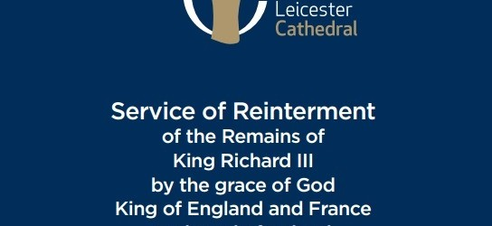 On Thursday, March 26, 2015, the remains of King Richard III will be laid to rest at Leicester Cathedral
