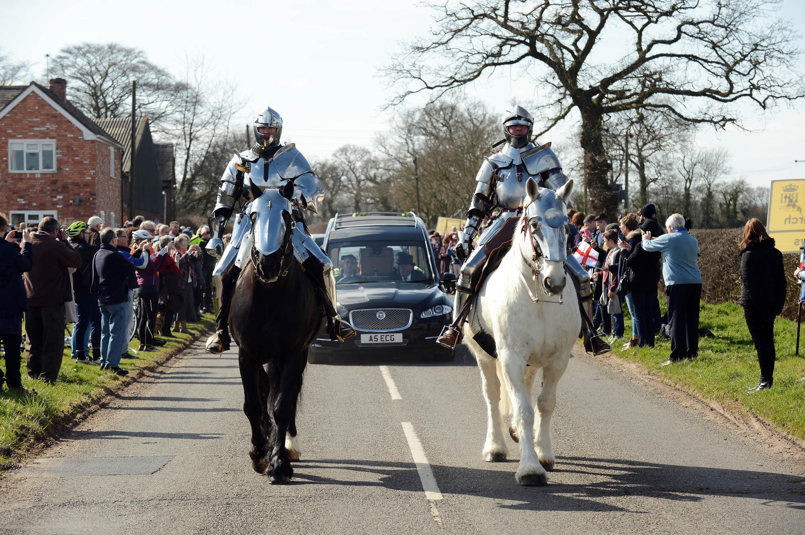 Parade für König Richard III. (c) medievalists.net.