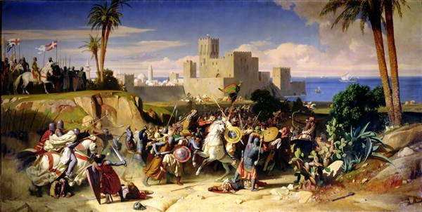 Reconquest of Beirut, Alexandre Hesse, 1842
