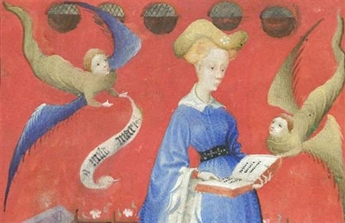 Mary of Guelders prayer book - photo courtesy Radbound University