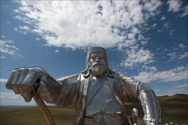 Millions of people are descended from Genghis Khan and 10 other Asian dynastic leaders, researchers find