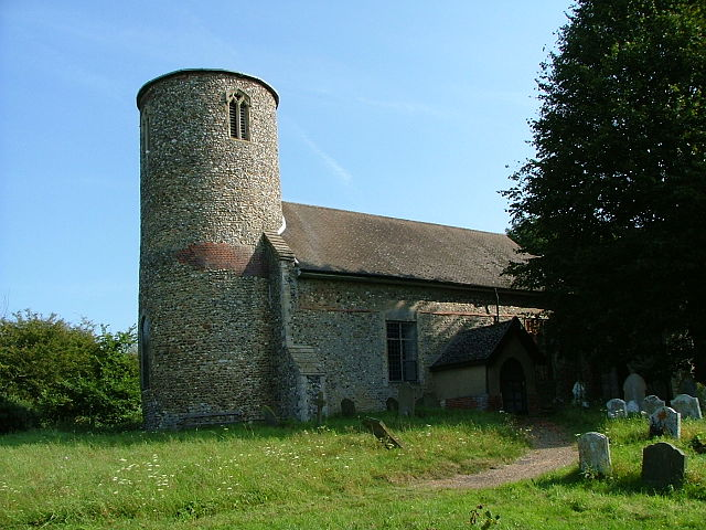 St Peter's church, Bruisyard, Suffolk  - Wikicommons