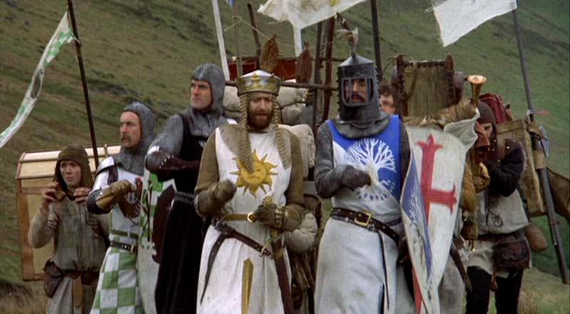 What is Your Favourite Scene from Monty Python and the Holy Grail?