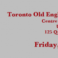 The annual Toronto Old English Colloquium will be taking place at the Centre for Medieval Studies in the University of Toronto, on Friday, May 1st, 2015.