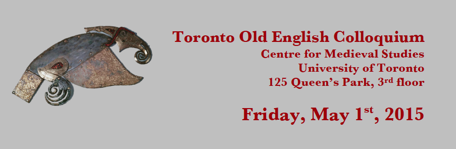 2015 Toronto Old English Colloquium