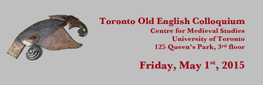 2015 Toronto Old English Colloquium