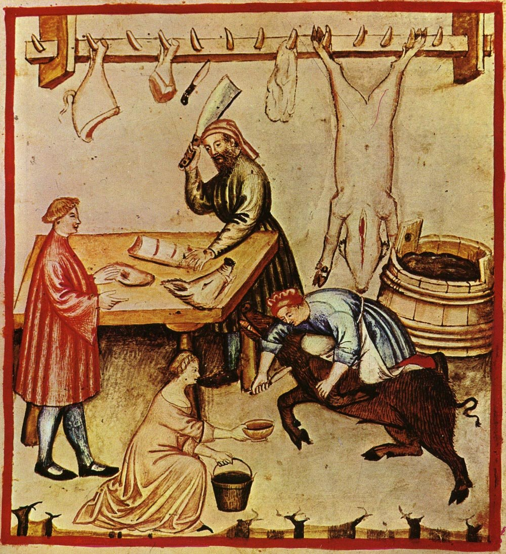 Beef and Pork in the Middle Ages - Medievalists.net