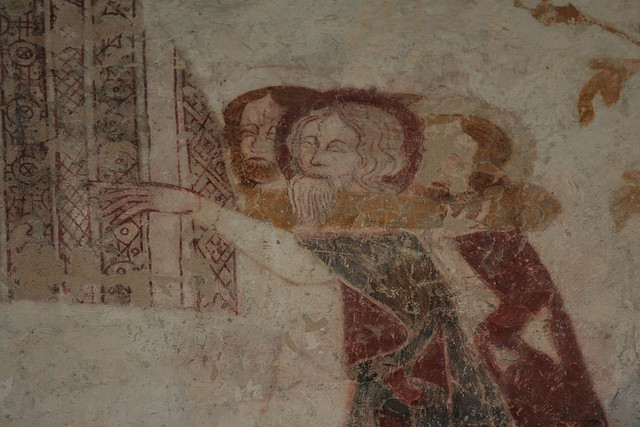 chalgrove wall paintings - Photo by  Holly Hayes / Flickr