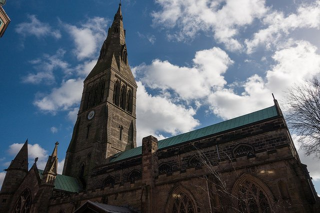 leicester cathedral  - photo by Paul Hudson/Flickr