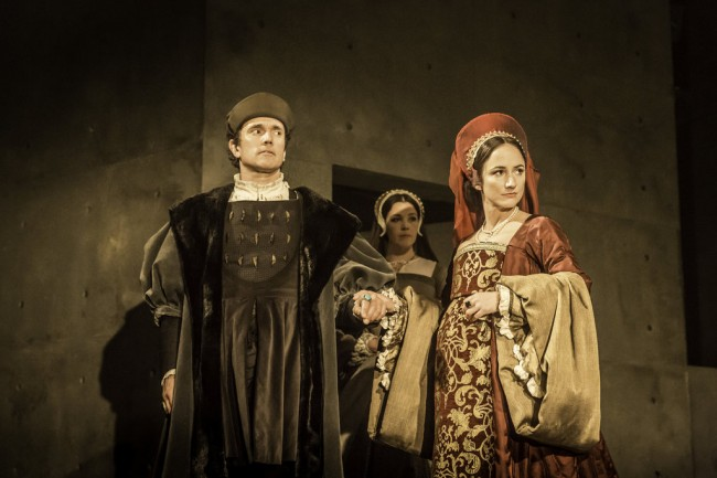 Wolf Hall: Ben Miles and Lydia Leonard – West End, Aldwych - Photo by  Johan Persson