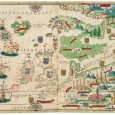 This gem in the history of cartography is the outcome of the combined efforts of the workshops of the first two 'schools' of Portuguese cartography