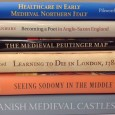 From castles to healthcare, and maps to poetry - six new books on the Middle Ages.