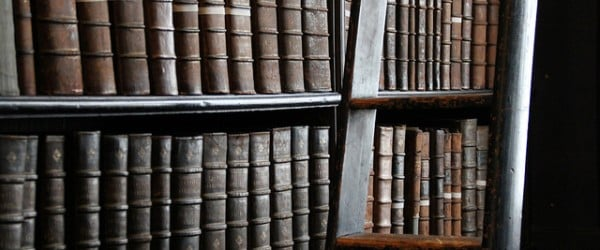 No stealing, no talking, no women - the rules you had to follow in a medieval library!