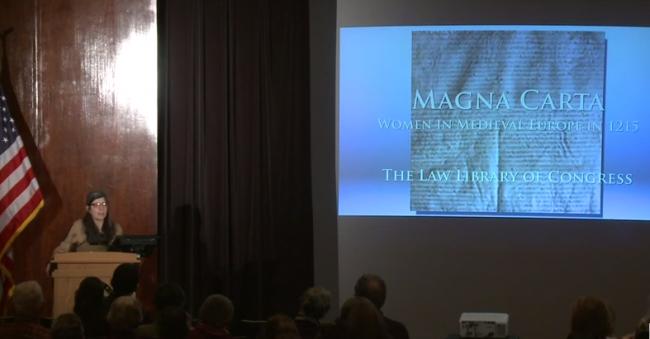 women and magna carta