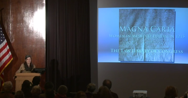 women and magna carta