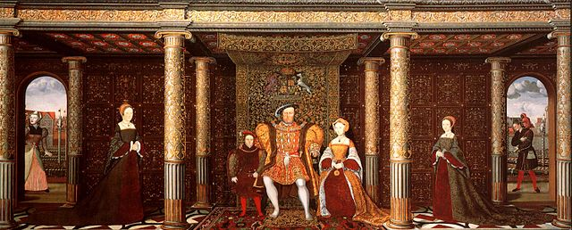 The Family of Henry VIII c.1545