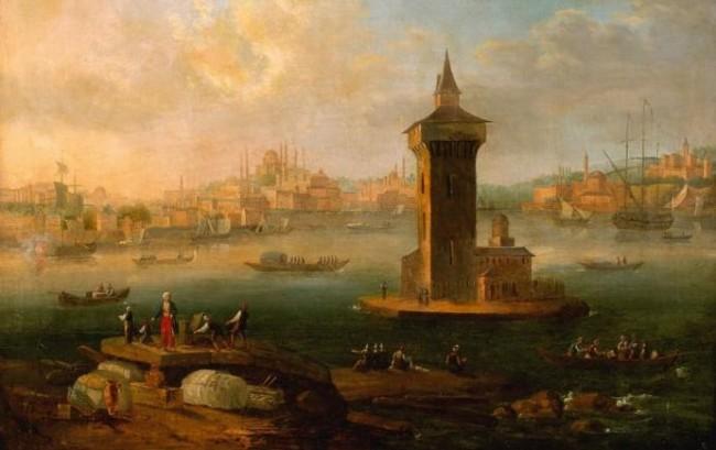 Ottoman Gallipoli - painting by Antoine-Laurent Castellan (1772–1838)
