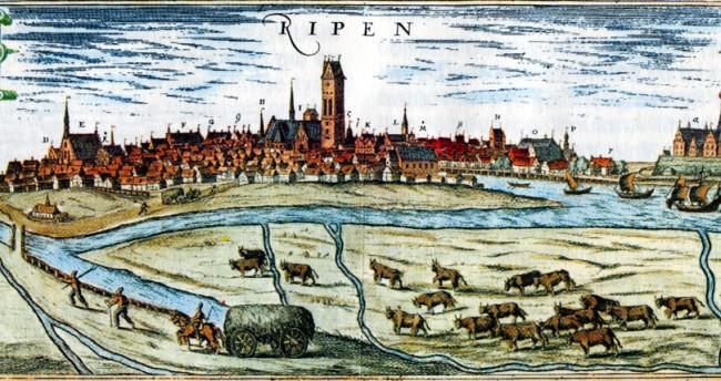 Ribe, Denmark in 1588