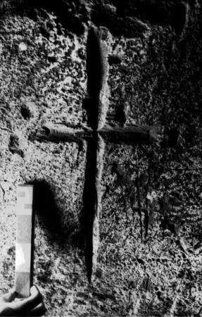 Iceland Cross carving - photo by Kristjan Ahronson