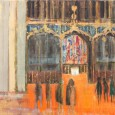 Renowned Leicester artist exhibit of the reinterment of Richard III at Leicester Cathedral opens today