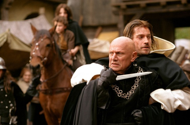 Steven Berkoff as the sadistic Inquisitor.