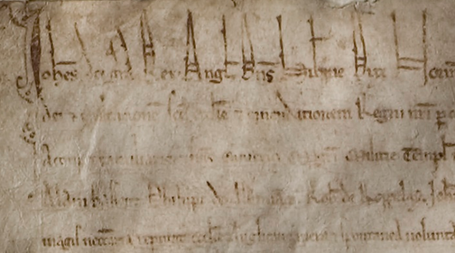 Magna Carta: Muse and Mentor