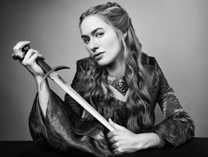 Lena Headey as Cersei Lannister in HBO's, 'Game of Thrones'. Photo courtesy of blastr.com (TV Guide)