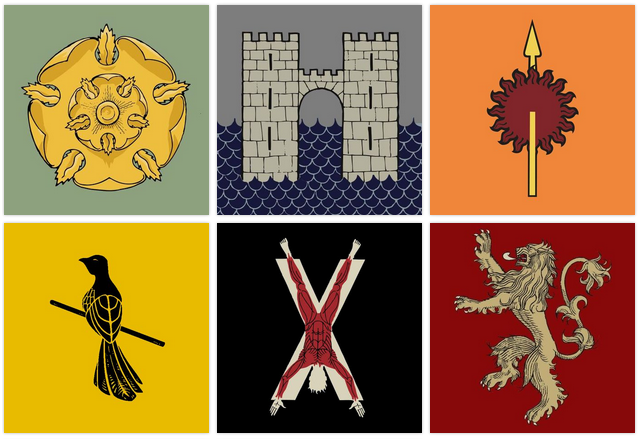 Game Of Thrones Banners Quiz