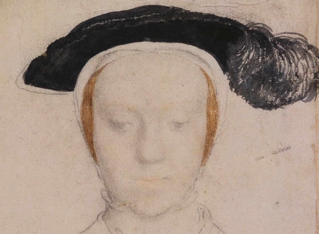 Portrait study of Mary, Duchess of Richmond and Somerset.