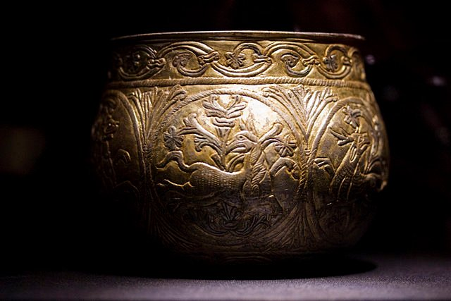 Vale of York Hoard - Carolingian Cup -  photo by vintagedept / Wikipedia
