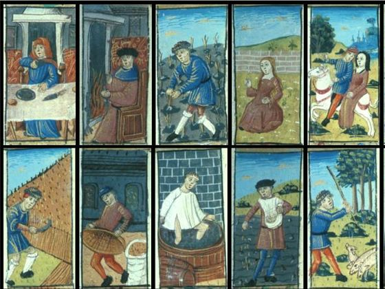jobs in medieval times