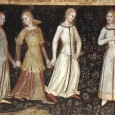 I don't know about you, but I often read descriptions of medieval clothing and want to know more about the fabric: what did it look like and what was its texture?